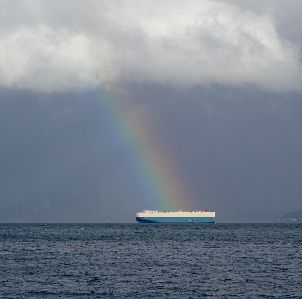 rainbow big big boat