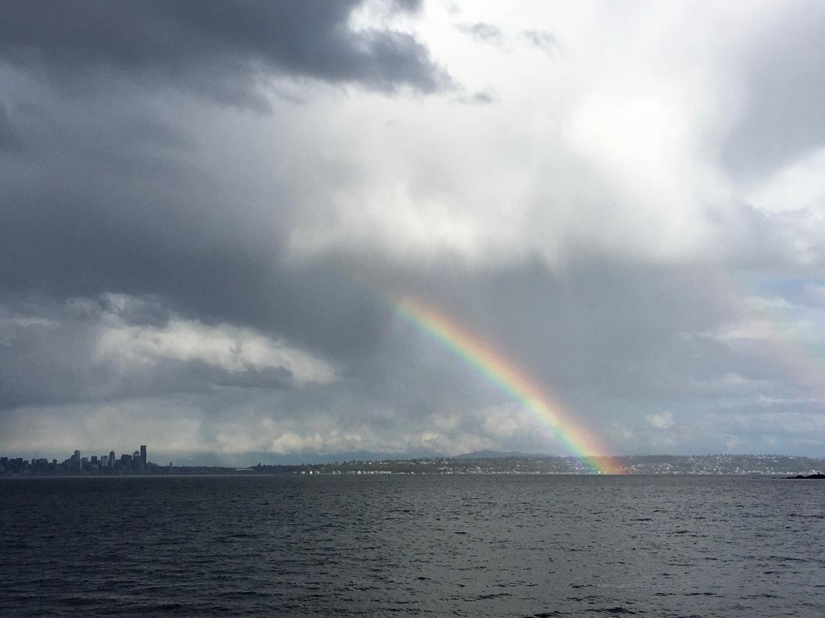 rainbow city part cloud rain