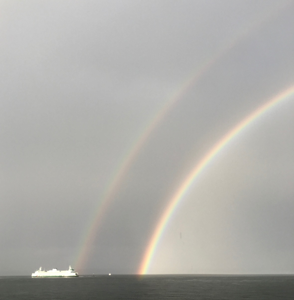 rainbow double end ferry in it